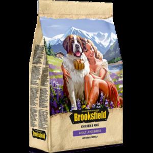 BROOKSFIELD Adult Dog Large Breed для собак крупных пород с Курицей и рисом, 3 кг, арт. 5651031