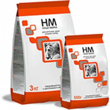 НМ сухой корм для взрослых собак средних пород