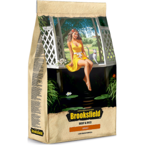 BROOKSFIELD Low Grain Adult Cat Beef для кошек с Говядиной и рисом 0,4 кг, арт. 5651110