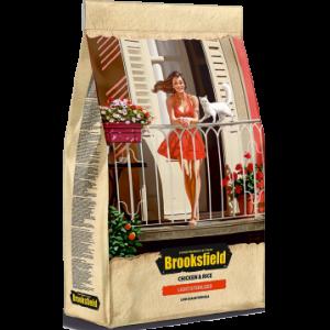 BROOKSFIELD Low Grain Adult Cat Sterilized/Light Chicken для кошек с курицей и рисом 7,5 кг, арт. 5651152