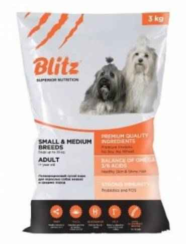 Blitz Adult Small & Medium Breeds