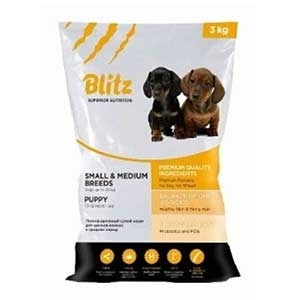 Blitz Puppy Small & Medium Breeds